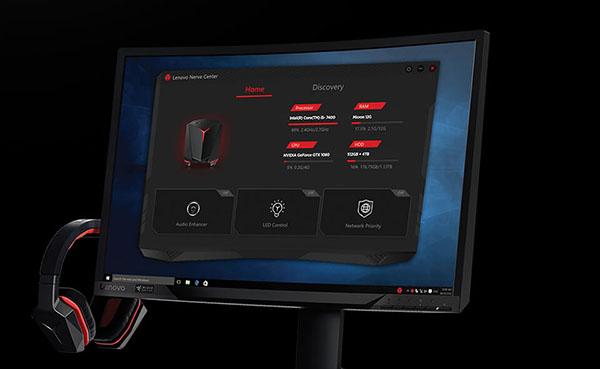 Komputer stacjonarny Lenovo Legion Y720 Cube - Lenovo Gaming