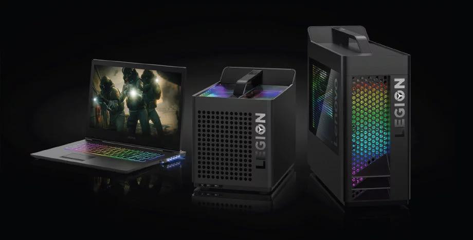 Akcesoria gamingowe w prezencie za zakup laptopów i desktopów Lenovo Legion