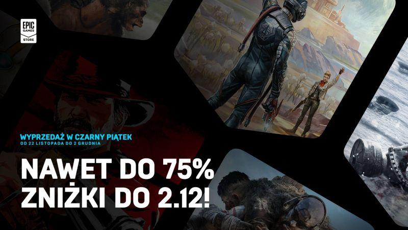 W Epic Games Store wystartowała wyprzedaż z okazji Czarnego Piątku