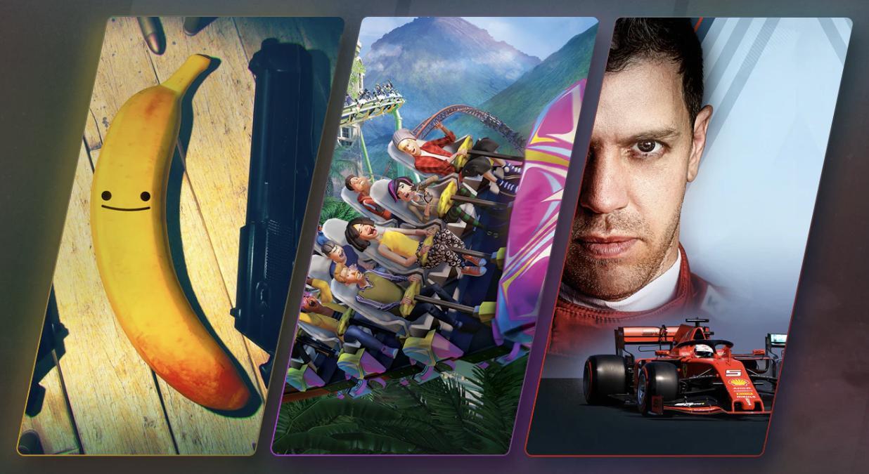 F1 2019, My Friend Pedro oraz Planet Coaster za grosze w Humble Choice
