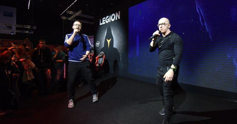 IEM 2018 - koncert Gimper & Kolega Ignacy na scenie Lenovo Legion