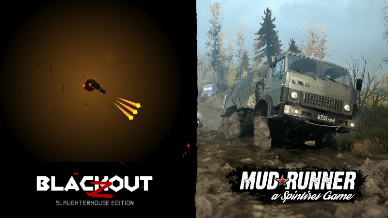 Darmowa strzelanka i realistyczny symulator ciężarówki. Odbierz, nie pożałujesz