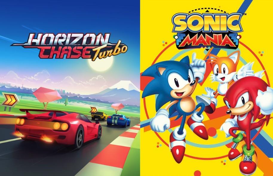 Horizon Chase Turbo oraz Sonic Mania od dziś za darmo w Epic Games Store