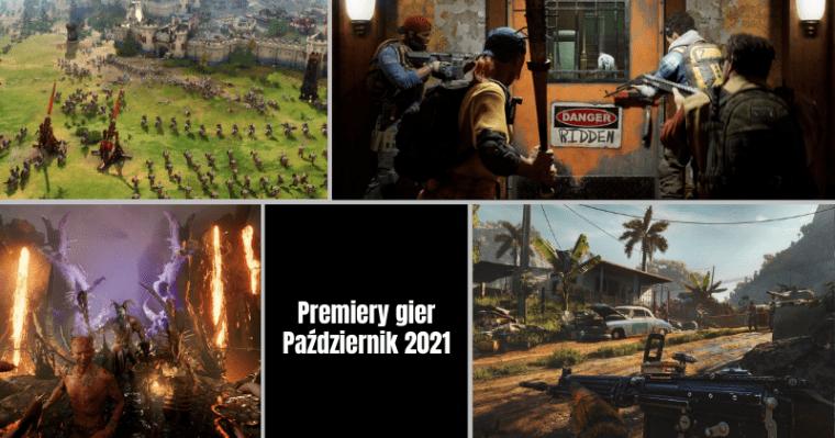 Najciekawsze premiery gier – pazdziernik 2021
