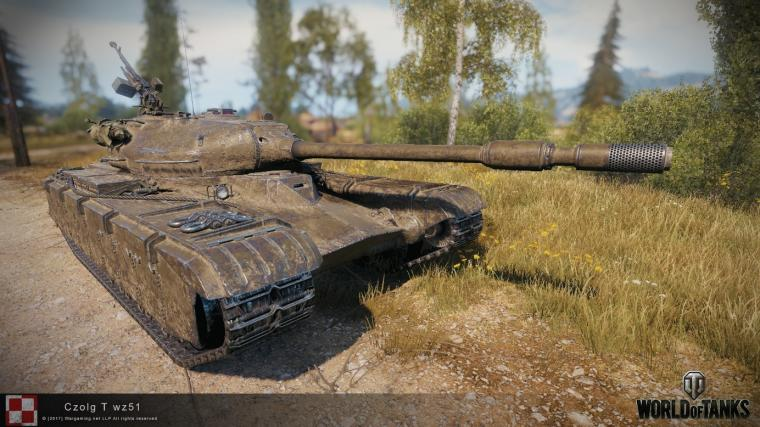 Polski czołg Projekt 51 trafia do World of Tanks