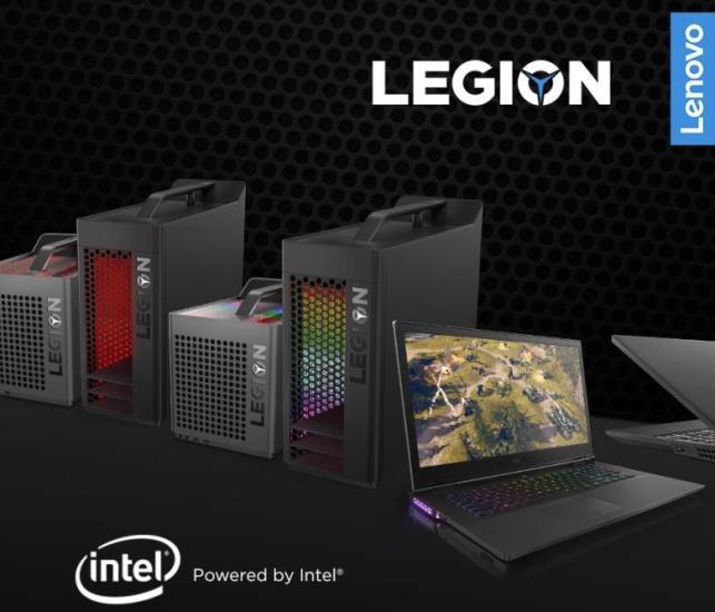 Nowe gamingowe komputery Lenovo Legion – wydajność i styl