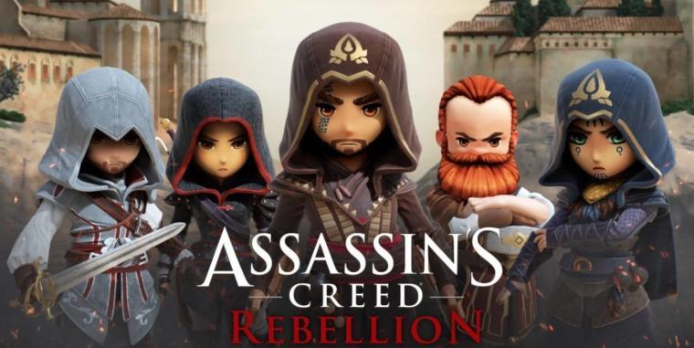 Assassin's Creed Rebellion - darmowa gra mobilna dostępna na Androida i iOS