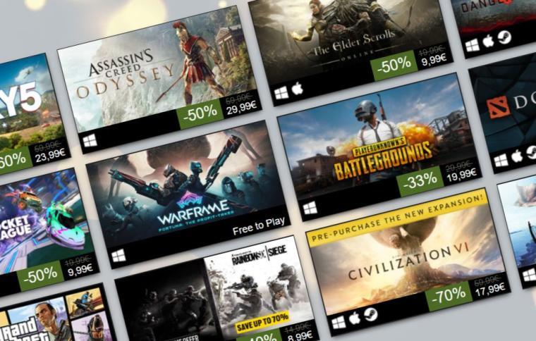 Valve ujawniło najlepiej sprzedające się gry 2018 roku