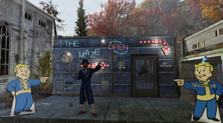 Labirynt śmierci w Fallout 76 to najlepsze, co spotkało tę grę