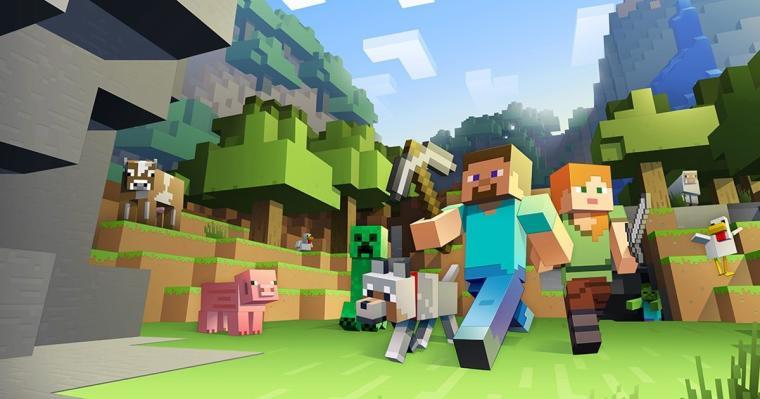 Minecraft Classic za darmo w przeglądarce