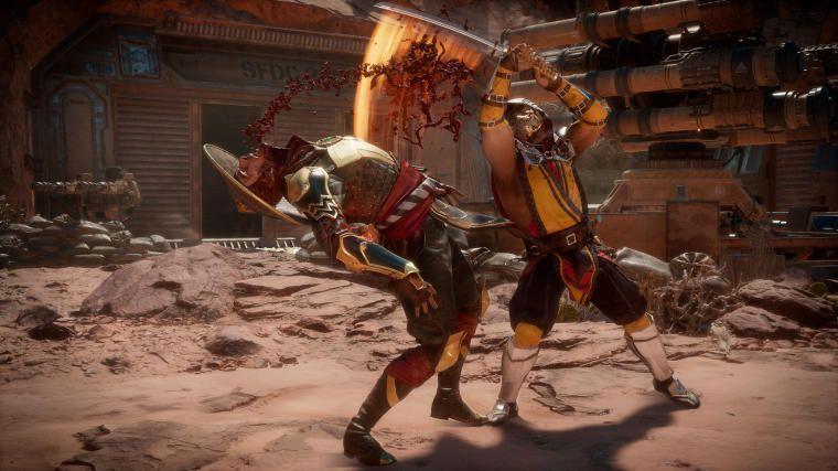 Z Mortal Kombat 11 zniknie blokada na poziomie 30 fps