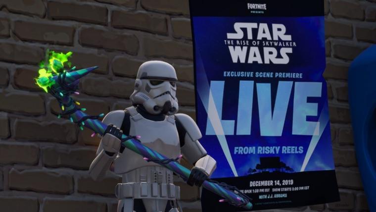 W Fortnite obejrzyjcie fragment filmu Star Wars 9 przed jego premierą!