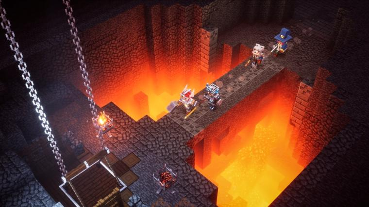 Minecraft Dungeons wkrótce z funkcją cross-play