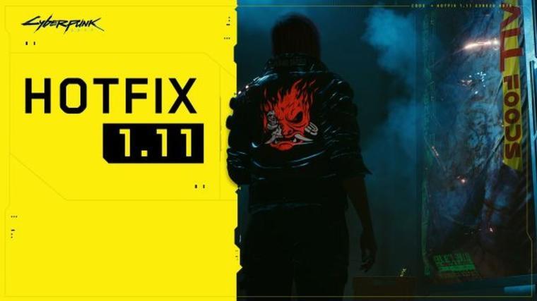 Cyberpunk 2077 - Hotfix 1.11 wydany
