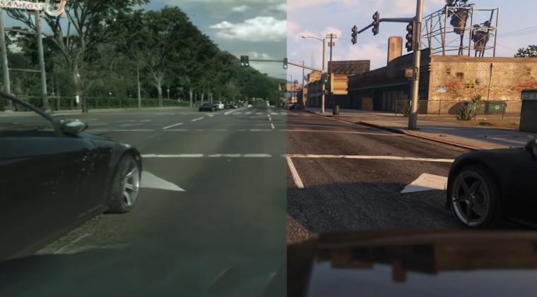Grafika w Grand Theft Auto V po modyfikacji Intela wygląda jak rzeczywistość