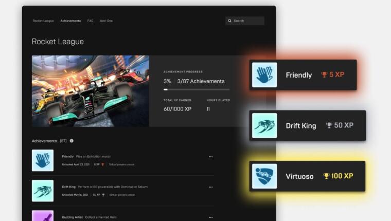 Na Epic Games Store w końcu pojawią się osiągnięcia