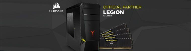 Nowy Lenovo Legion Y920 Tower efektem współpracy Lenovo™ i CORSAIR®