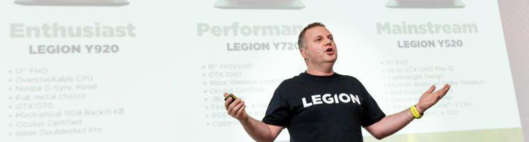 Konferencja prasowa Lenovo Legion 2017